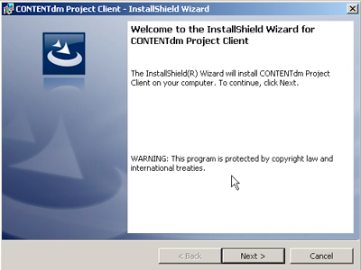 Welcome to the Install Shield Wizard window